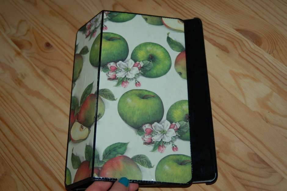 etui ipad 2 apple jablka