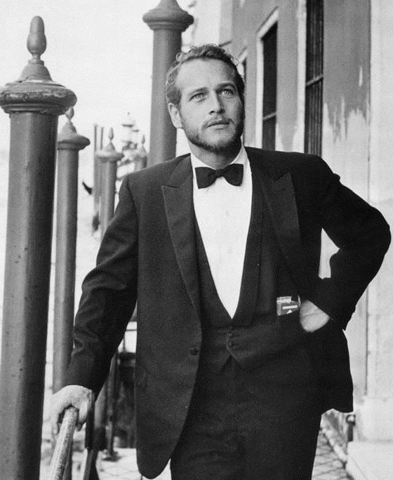 Paul Newman bow tie