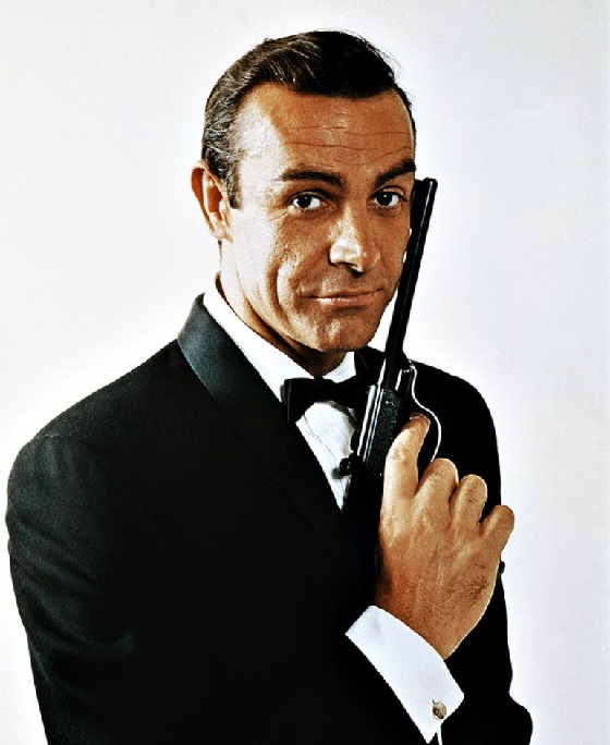 Sean Connery bow tie