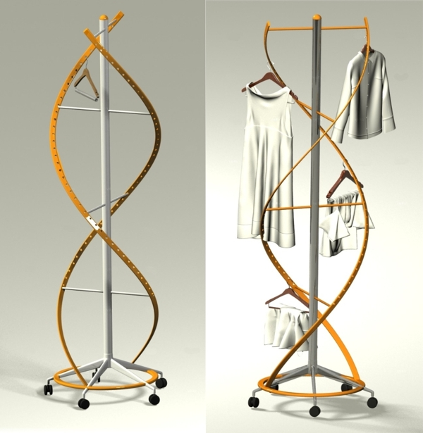 DNA clothes rack