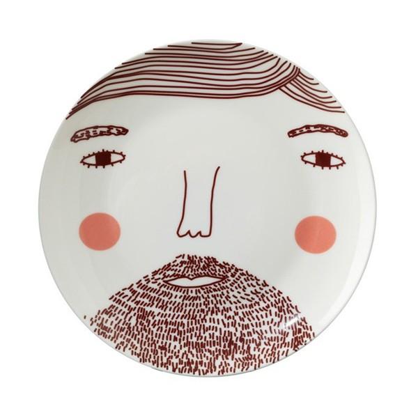 Donna Wilson Beardy Man Plate