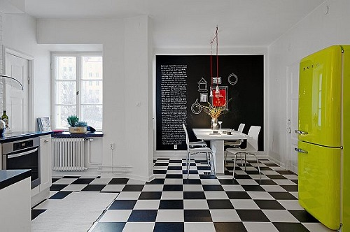 Checkered floor 3