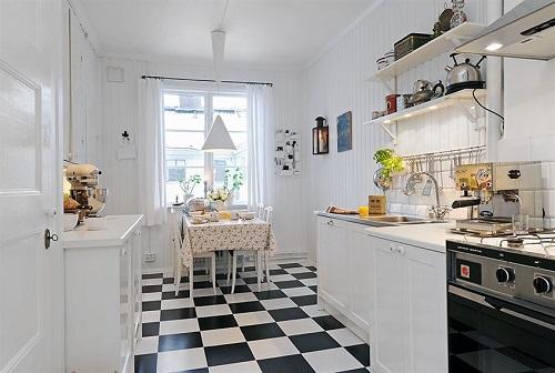 Checkered floor 4
