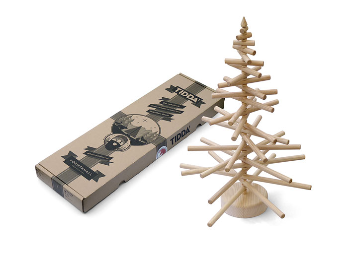 Wooden Christmas tree 3