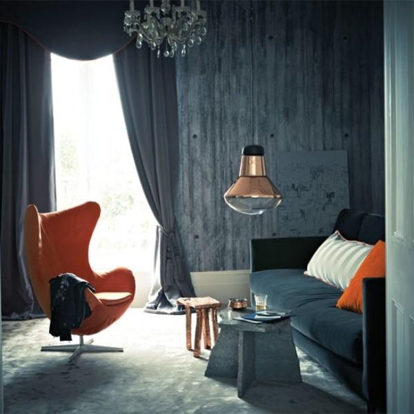Orange interiors 3