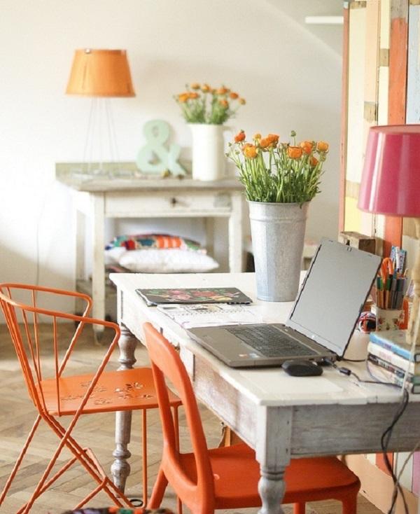 Orange interiors 8