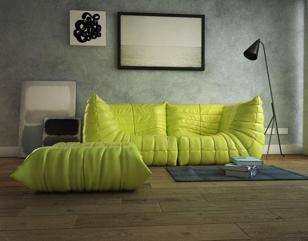 Togo sofa 3
