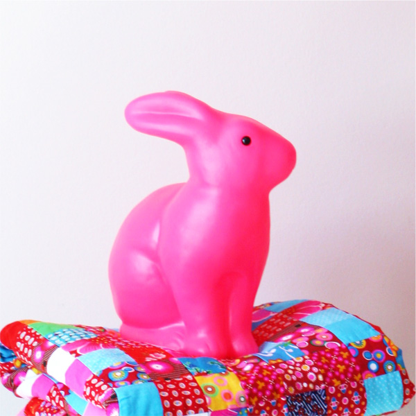 Heico bunny rabbit pink