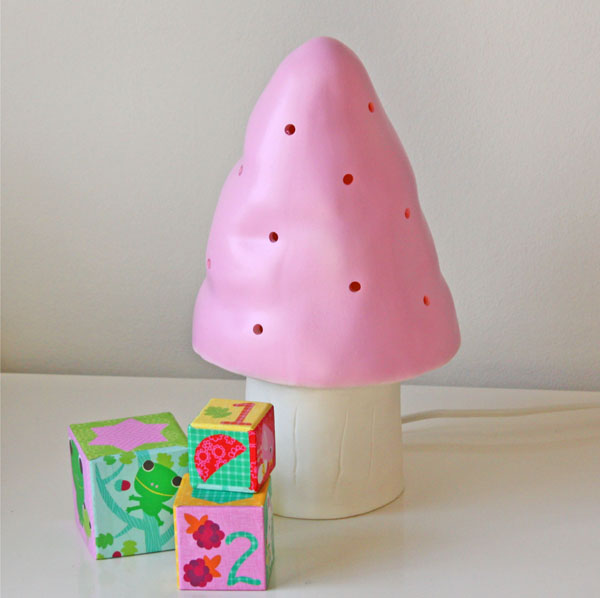 Heico mushroom pink